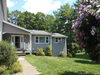 SHERMAN Single Family Home For Sale: 24 Wanzer Hill Road