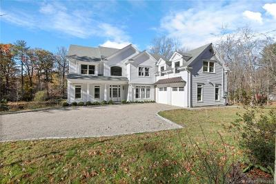 Stamford Single Family Home For Sale: 580 Rock Rimmon Road