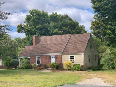 Suffield Single Family Home For Sale: 659 Mapleton Avenue