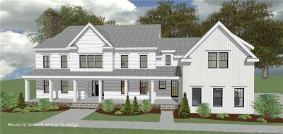 New Canaan CT Single Family Home For Sale: $3,650,000