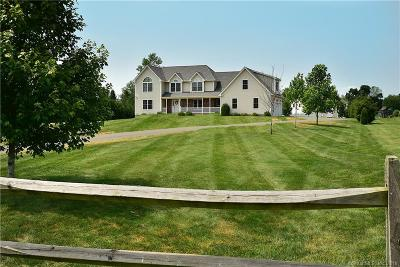 Ellington Single Family Home For Sale: 185 Porter Road