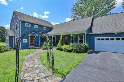 Plainfield, Voluntown, Griswold, Sterling, Killingly Single Family Home For Sale: 333 Pine Hill Road