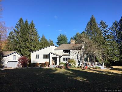 Ridgefield Single Family Home For Sale: 36 Sky Top Road
