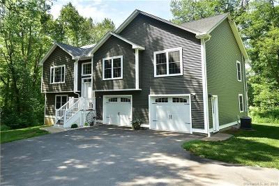 Ellington Single Family Home For Sale: 118 Burbank Road