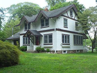 Darien Single Family Home For Sale: 93 Rose Lane