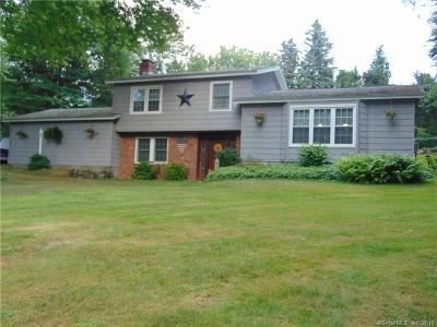 Wolcott Single Family Home For Sale: 3 Evergreen Drive