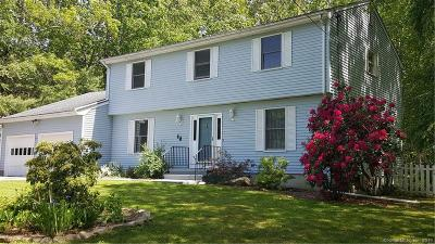 Ledyard Single Family Home For Sale: 46 Robinhood Drive