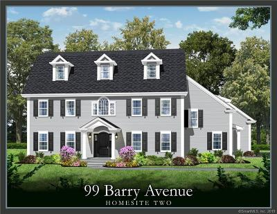 Ridgefield Single Family Home For Sale: 99 Barry Avenue #Lot 2