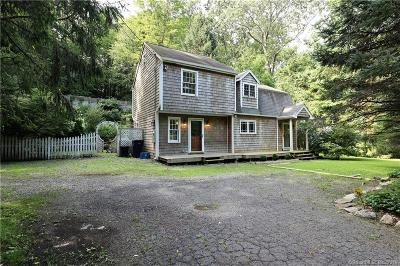 Wilton Single Family Home For Sale: 213 New Canaan Road