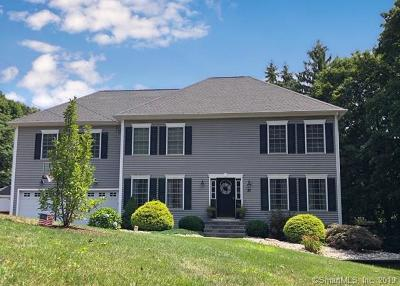 Wallingford Single Family Home For Sale: 37 Hope Hill Road