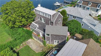 Stonington Single Family Home For Sale: 13 Front Street