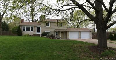 South Windsor Single Family Home For Sale: 53 Meadow Road