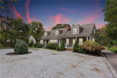 New Canaan Single Family Home For Sale: 601 Old Stamford Road