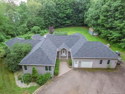Wolcott Single Family Home For Sale: 75 Coe Road