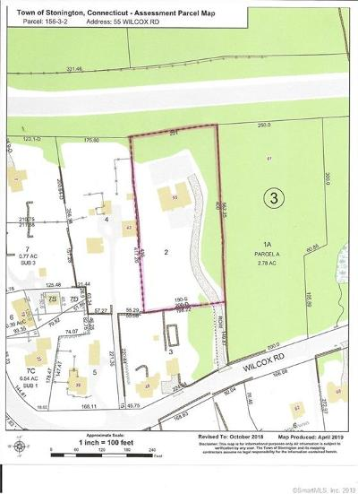 Stonington Residential Lots & Land For Sale: 55 Wilcox Road