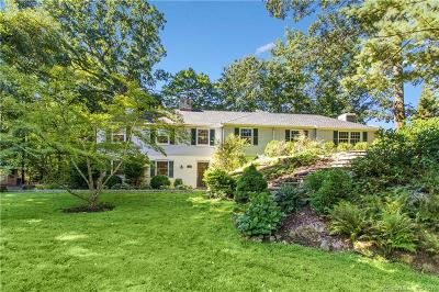 Darien Single Family Home For Sale: 14 Tory Hole Road
