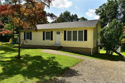 Coventry Single Family Home For Sale: 128 Gable Road