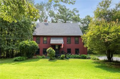 Hebron Single Family Home For Sale: 225 Martin Road