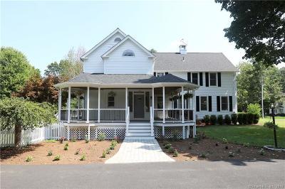Simsbury Single Family Home For Sale: 40 Seminary Road