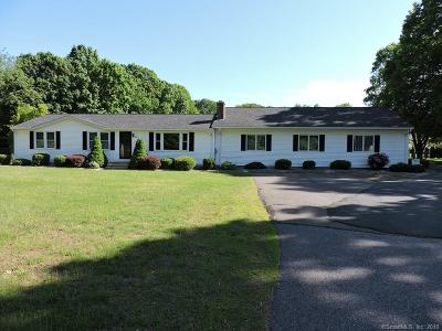 South Windsor Single Family Home For Sale: 134 Oakland Road