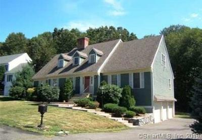 Waterbury Single Family Home For Sale: 55 Country Club Woods Circle