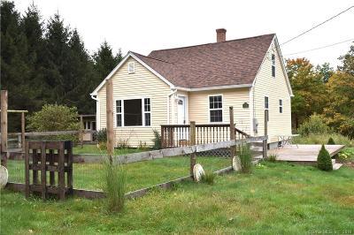 Pomfret Single Family Home For Sale: 188 Cherry Hill Road