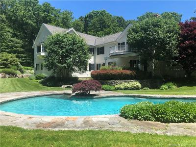 New Canaan Single Family Home For Sale: 116 Huckleberry Hill Road