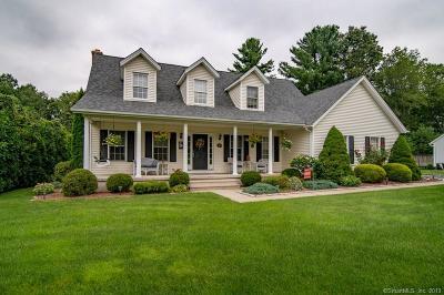 Southington Single Family Home For Sale: 31 Cobblestone Drive
