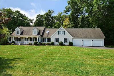 Suffield Single Family Home For Sale: 89 Cold Spring Lane