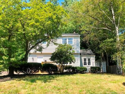West Hartford Single Family Home For Sale: 108 Cortland Circle