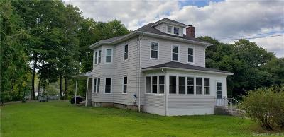 Killingly Single Family Home For Sale: 45 Railroad Avenue