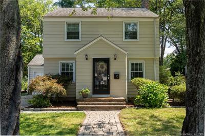 West Hartford Single Family Home For Sale: 10 Tecumseh Road