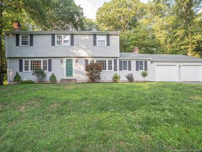Avon CT Single Family Home For Sale: $389,000