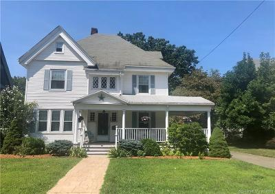 New Britain Single Family Home For Sale: 25 Forest Street