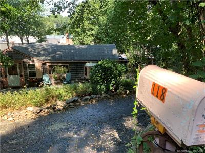 Darien Single Family Home For Sale: 118 Old Kings Highway South