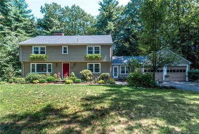 Simsbury Single Family Home For Sale: 20 Fox Den Road