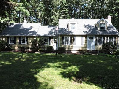 Somers Single Family Home For Sale: 417 Billings Road