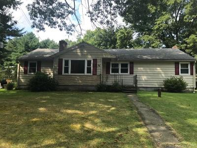 Tolland County, Windham County Single Family Home For Sale: 49 Laurel Lane