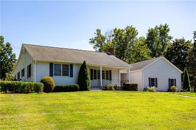 Tolland County, Windham County Single Family Home For Sale: 11 Jolly Road