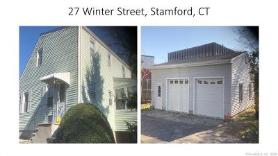 Fairfield County Single Family Home For Sale: 27 Winter Street