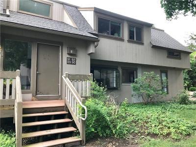 Condo/Townhouse For Sale: 90 Mallard Drive #90