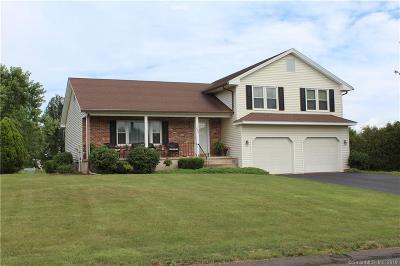 Suffield Single Family Home For Sale: 282 Quail Run Road