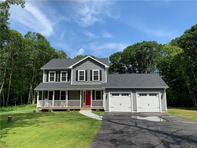 Tolland County, Windham County Single Family Home For Sale: Lot 4 Madison Avenue