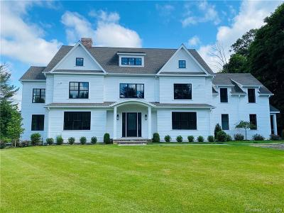 New Canaan CT Single Family Home For Sale: $2,995,000