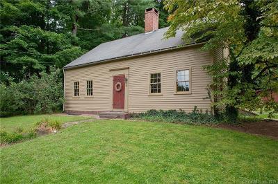 Simsbury Single Family Home For Sale: 96 East Weatogue Street