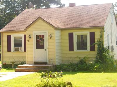 Suffield Single Family Home For Sale: 235 Griffin Road