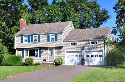 Glastonbury Single Family Home For Sale: 41 Randolph Drive