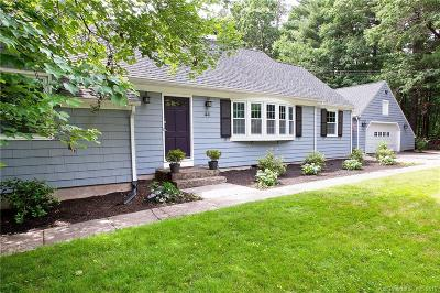 Simsbury Single Family Home For Sale: 44 Fox Den Road