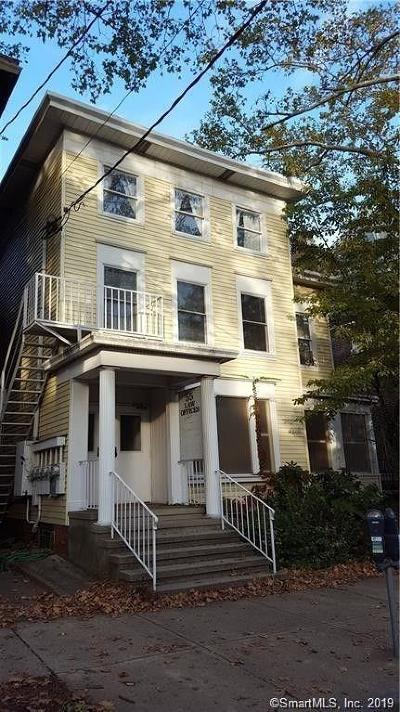 E Haven, New Haven, W Haven Multi Family Home For Sale: 55 Trumbull Street