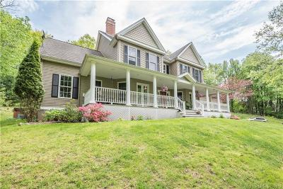 Simsbury Single Family Home For Sale: 10 Hallview Drive